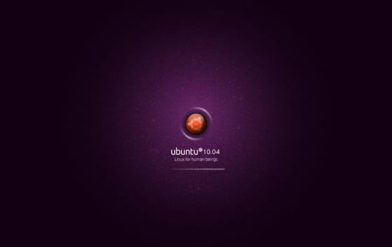 robinn25: ubuntu 10.04 theme splash internauta2000.png