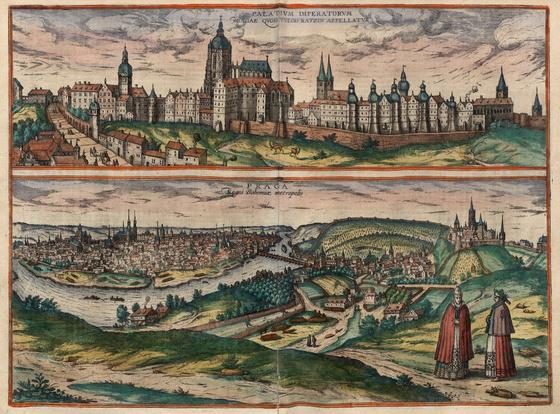 Országos Széchényi Könyvtár: Prága (Praga) a XVI–XVII. század fordulóján