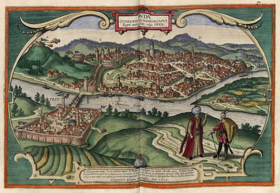 Országos Széchényi Könyvtár: Buda a XVI–XVII. század fordulóján