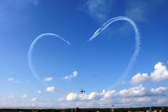 tourista: Repülőnap 2010 - a Frecce Tricolori nagy szíve