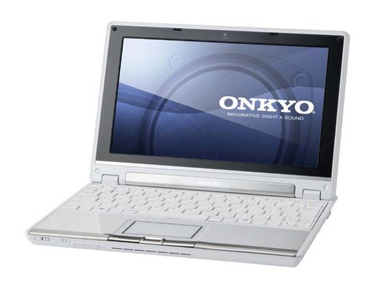 Onkyo MX1007A4 netbook