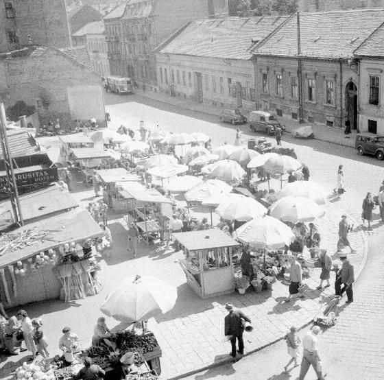 Fény utcai piac - Retek utca