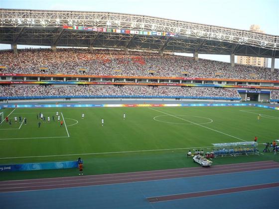 zhaoman: Shanghai, stadion