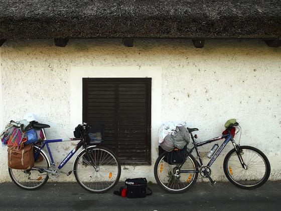Pacsker: Kerékpáros túrázás - felcuccolva
