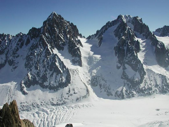 agoston.viktor: 25 Our route up Glacier du Chardonnet