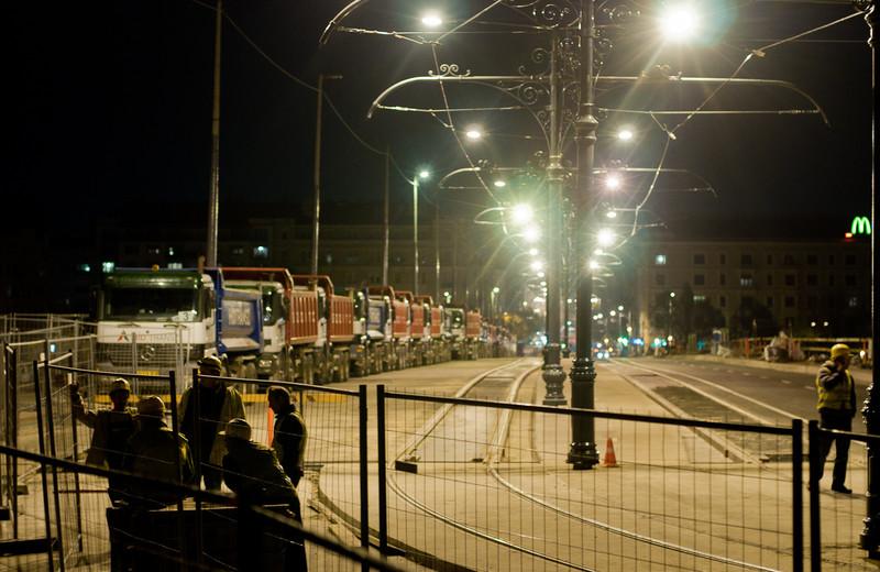 darthwalk: Terheléses teszt a Margit hídon
