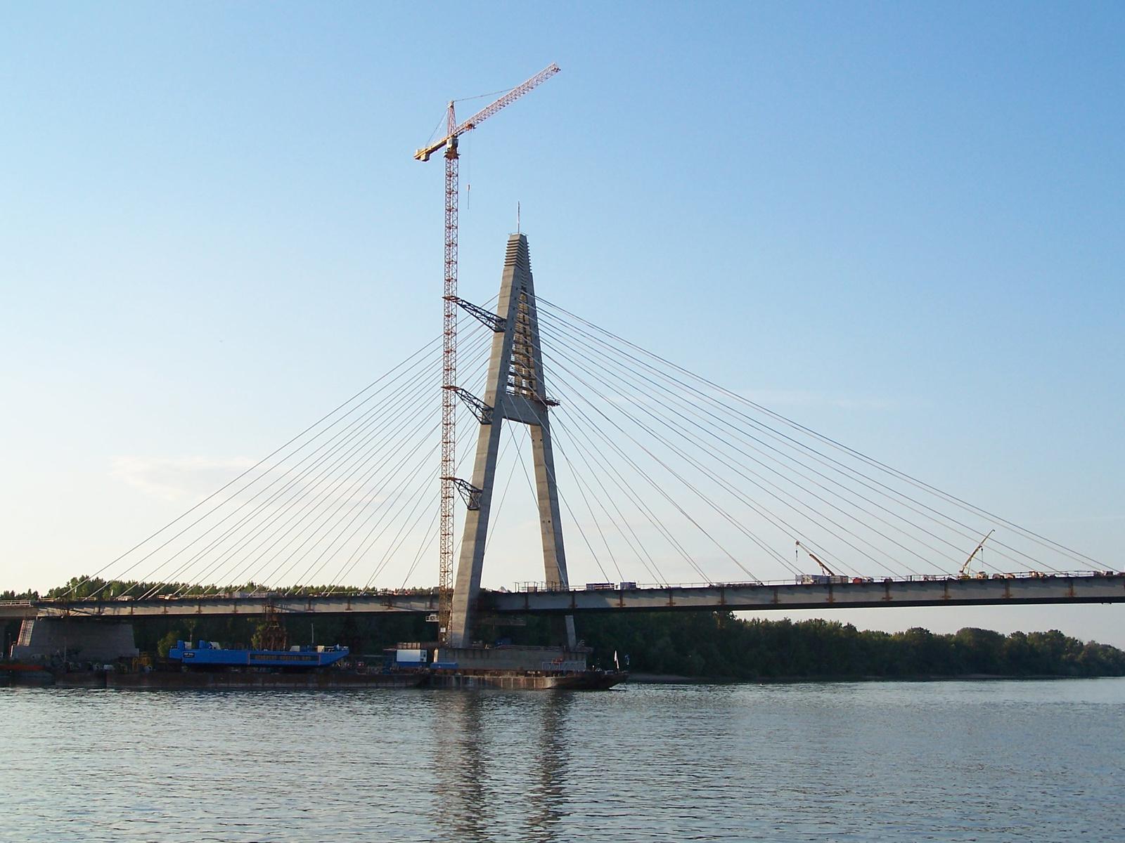 Épülő Megyeri híd