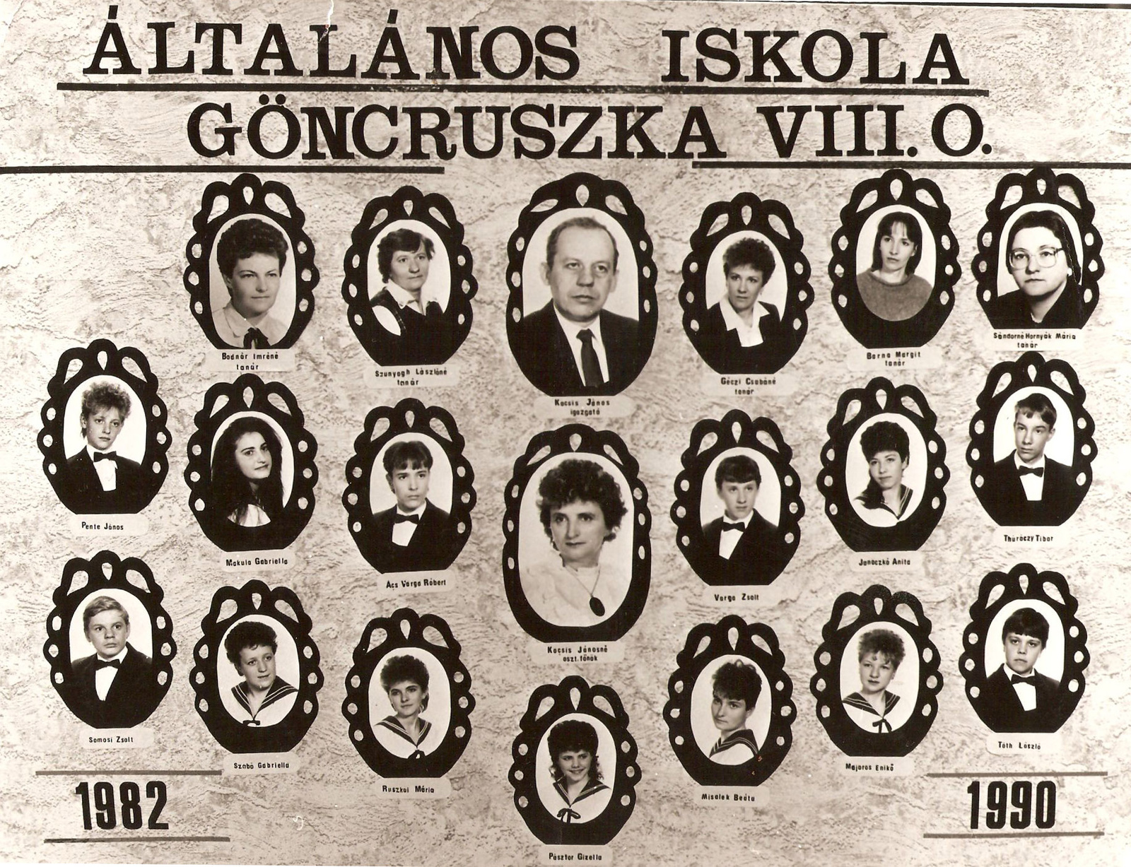 Ált. Iskola 1990.