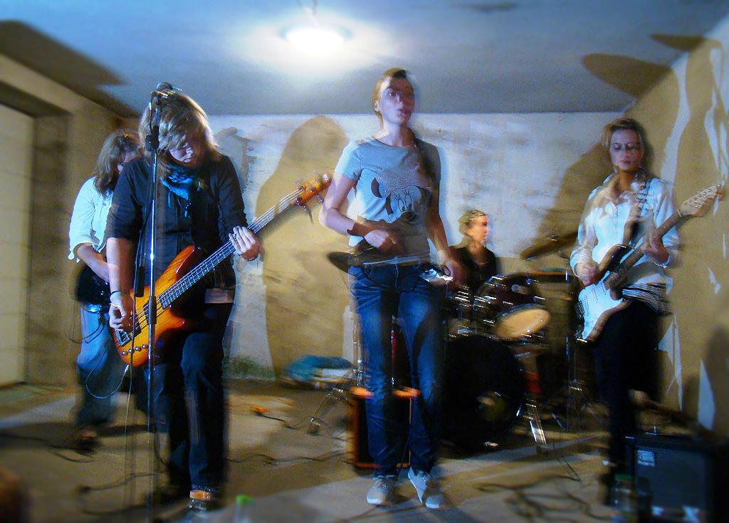 A garázs koncert