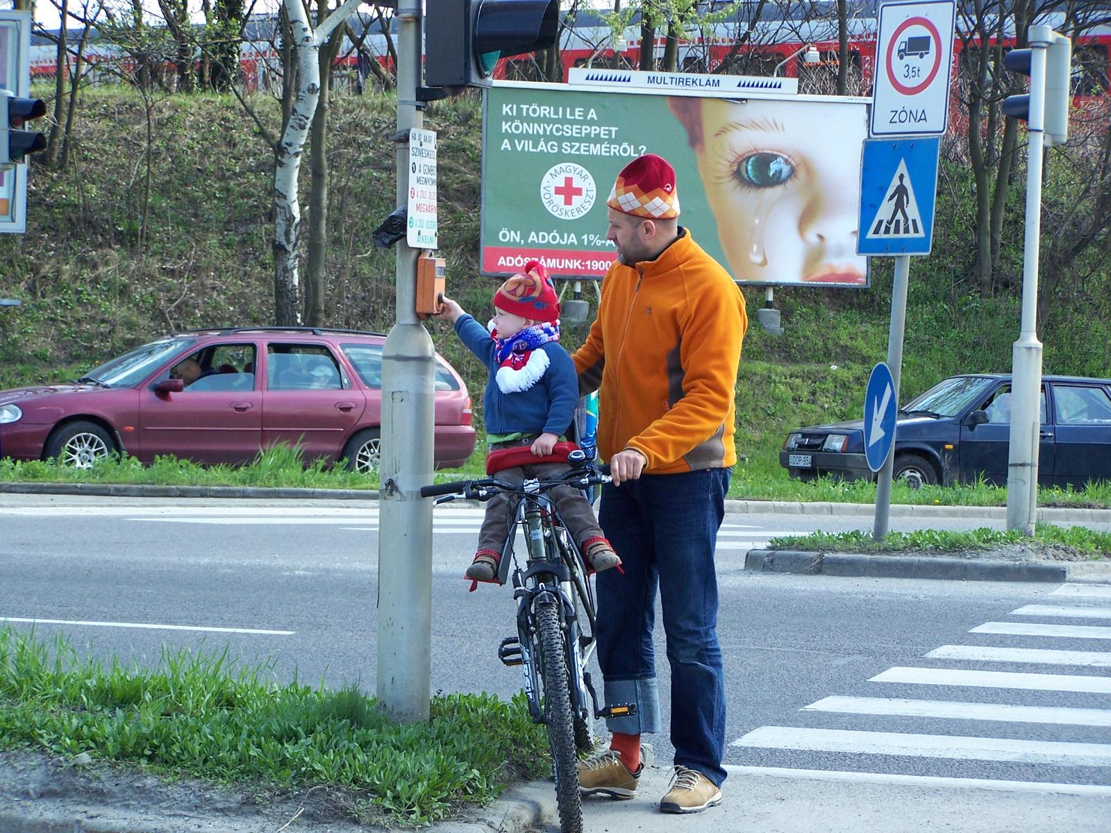 zöld utat a kerékpárosoknak!